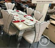 Quality and Classic Loyal Marble Dining Table for 6 Seater Chairs   Furniture for sale in Lagos State, Ikeja