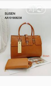 New Female Brown Leather Handbag | Bags for sale in Lagos State, Amuwo-Odofin