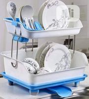 2 Tier Plate Rack. Blue and Pink | Kitchen & Dining for sale in Rivers State, Port-Harcourt