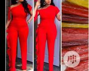 Red Jumpsuit and Multicoloured Overall   Clothing for sale in Lagos State, Lagos Island