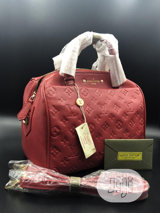Louis Vuitton Red Bag