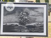 Charcoal Wall Artwork | Arts & Crafts for sale in Abuja (FCT) State, Gwarinpa