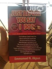 Just Before You Say I Do | Books & Games for sale in Lagos State