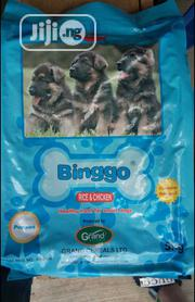Binggo Dog Food Puppy Adult Dogs Cruchy Dry Food Top Quality.. | Pet's Accessories for sale in Lagos State