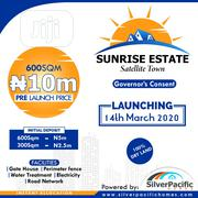 SUNRISE ESTATE - Governor's Consent | Land & Plots For Sale for sale in Lagos State