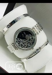 Cartier Female Silver Wristwatch Bracelet | Jewelry for sale in Lagos State, Surulere