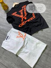 Exclusive Louis Vuitton Roundneck T-Shirt Available in Colors | Clothing for sale in Lagos State, Lagos Island