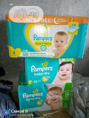 Now in Stock Original US Pampers Size 2 4 | Baby & Child Care for sale in Lagos State, Surulere