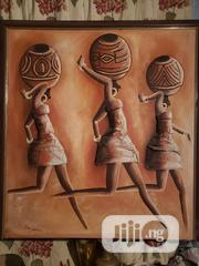 """""""3 Maidens"""" Imported Original Oil On Canvas 