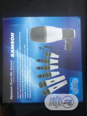 Samson Drum Microphone. 7 Sets | Musical Instruments & Gear for sale in Lagos State, Ojo