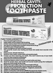 Norland Herbal And Organic Toothpaste(Oral Care) | Bath & Body for sale in Lagos State, Ojo