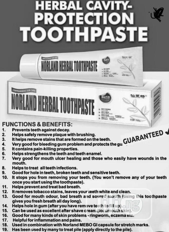 Norland Herbal And Organic Toothpaste(Oral Care)