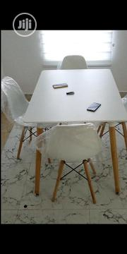 Italian Unique Restaurant 4 Chairs With Tables | Furniture for sale in Lagos State, Ojo