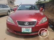 Lexus IS 2007 250 Red   Cars for sale in Lagos State