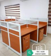 New Smart 4-Seater Office Workstation Table | Furniture for sale in Lagos State, Ajah