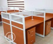 Brand New 4-Seater Office Workstation Table | Furniture for sale in Lagos State, Lekki Phase 1