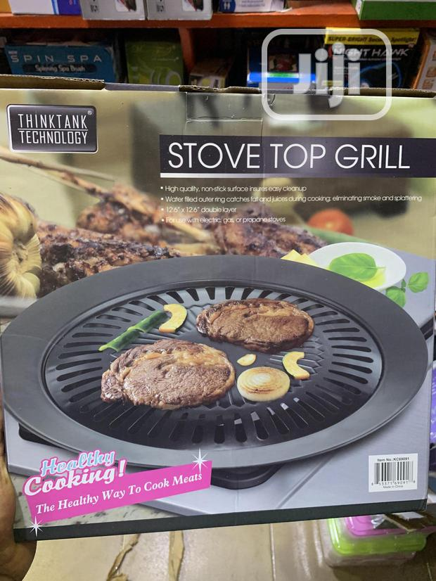Home Stove Top Smokeless Indoor BBQ Grill