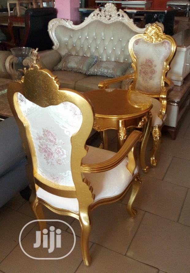 Royal Coffee Chair and Table