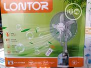 16 Inches Lontor Solar Rechargeable Mist Fan | Solar Energy for sale in Lagos State, Ojo