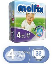 Molfix Size 4 Maxi (32 Counts) | Baby & Child Care for sale in Lagos State, Ikeja