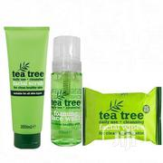 Tea Tree Daily Cleansing Facial Set -(Wipes,Scrub Wash) | Makeup for sale in Lagos State, Ojo