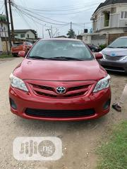 Toyota Corolla 2012 Red   Cars for sale in Lagos State, Surulere