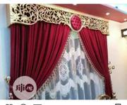 Royalty Red Blackout Curtains | Home Accessories for sale in Lagos State, Yaba