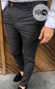 Gray Color High Quality Turkish Pants Trousers | Clothing for sale in Lagos Island, Lagos State, Nigeria