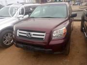 Honda Pilot 2007 LX 4x4 (3.5L 6cyl 5A) Red   Cars for sale in Lagos State, Alimosho