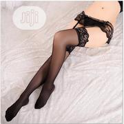 Garter Belt + Lace Suspender Belt Over Knee Thigh Highs Socks   Clothing Accessories for sale in Lagos State, Yaba