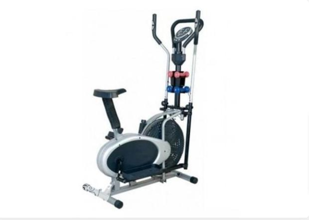 Orbitrac Exercise Bike Four Handle With Dumbbells