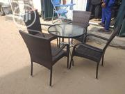 High Quality Imported Outdoor Kane Chair and Table With Umbrella | Garden for sale in Lagos State, Lekki Phase 1