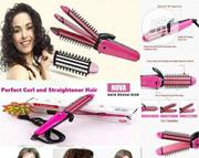 2 in 1 Nova Hair Curler and Straightener | Tools & Accessories for sale in Lagos State, Alimosho