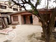 Plot of Land With Standard Bungalow for Sale at Sholuyi Gbagada | Land & Plots For Sale for sale in Lagos State, Gbagada