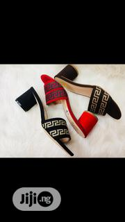 Channel Block Heels | Shoes for sale in Lagos State, Surulere