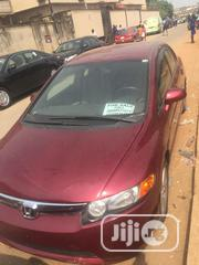 Honda Civic 2006 1.8i-VTEC EXi Automatic Red | Cars for sale in Lagos State, Agege