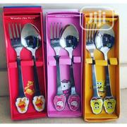Kids Character Steel Cutlery Set | Kitchen & Dining for sale in Lagos State, Amuwo-Odofin