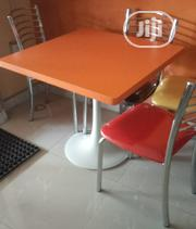 Strong And Durable Restaurant 4 Seater Table And Chair Brand New | Furniture for sale in Lagos State, Maryland