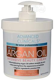 Advanced Clinicals, Argan Oil, Intensive Beauty Cream, 16 Oz (454 G) | Skin Care for sale in Lagos State, Ikeja