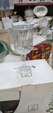 6pieces Crystal Wine Glass And Water Glass | Kitchen & Dining for sale in Lagos State, Lagos Island