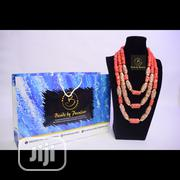 Luxury Bridal Coral Bead Set | Jewelry for sale in Lagos State, Ikeja