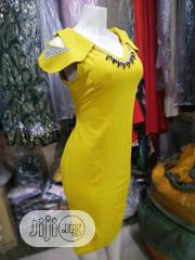 Beautiful Yellow Outing Gown | Clothing for sale in Lagos State, Orile