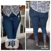 Embelished Highwaist Jeans Pant | Clothing for sale in Rivers State, Bonny