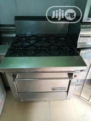 London Used 6 Burner Cooker With Oven | Restaurant & Catering Equipment for sale in Lagos State, Ojo