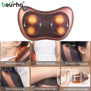 Vibrating Electric Back Neck Shoulder Massage Pillow With 4 Button | Massagers for sale in Lagos State, Lagos Island