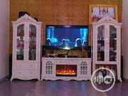 Fire Place Tv Stand With Wine Bar | Furniture for sale in Lagos State, Mushin