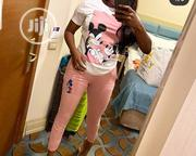 Mickey 2-piece In Pink | Clothing for sale in Rivers State, Bonny