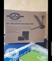 "56"" 12volts Solar Dc Ceiling Fan 