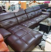 Imported Adjustable Head Rest L Shape Leather Sofa | Furniture for sale in Lagos State, Ikeja