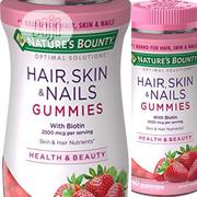 Nature'S Bounty Hair, Skin & Nails Strawberry Flavored 2,500 Mcg 140 | Vitamins & Supplements for sale in Lagos State, Ikeja